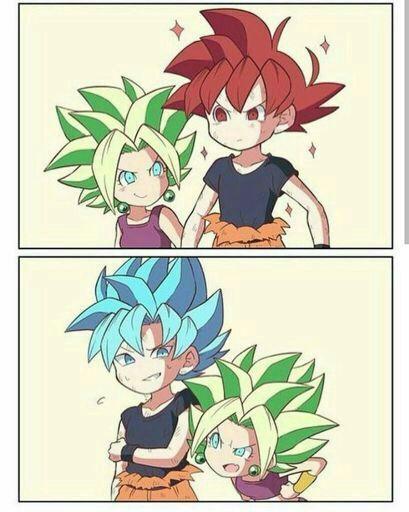 Goku y Kefla kawaii | DRAGON BALL ESPAÑOL Amino