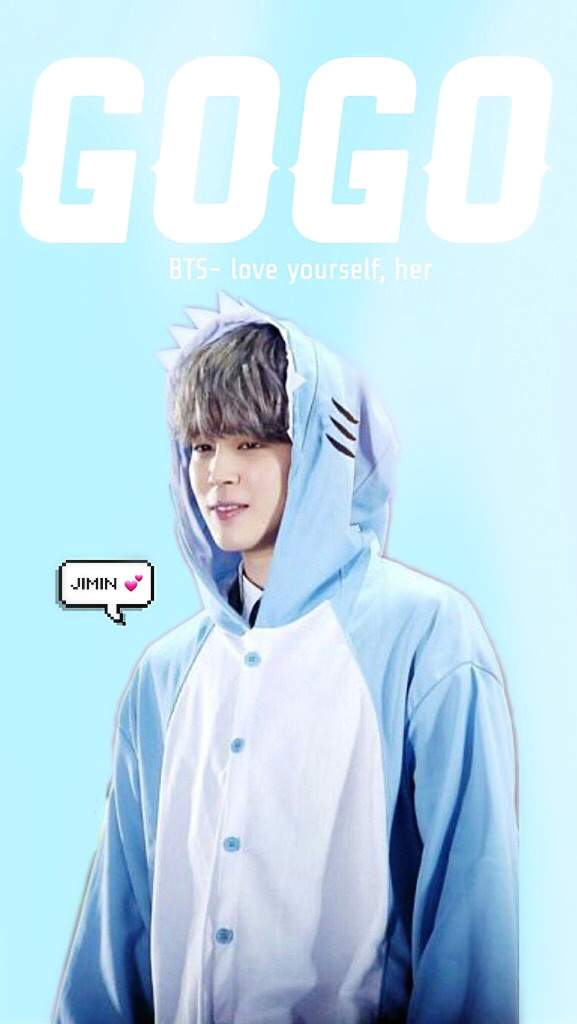 Jimin Gogo Wallpaper My Edit Dont Copy My Picture Or Give Credits