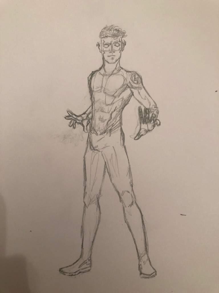Dibujo Kid Flash New 52 Cómics Amino