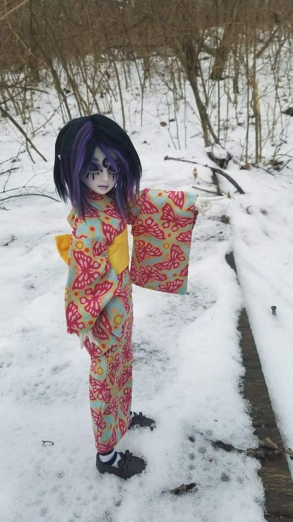 Kimono Winter Photoshoot Bjd Amino Amino