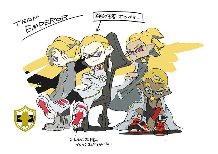 Concept Art And Info Of Team Emperor Splatoon Amino