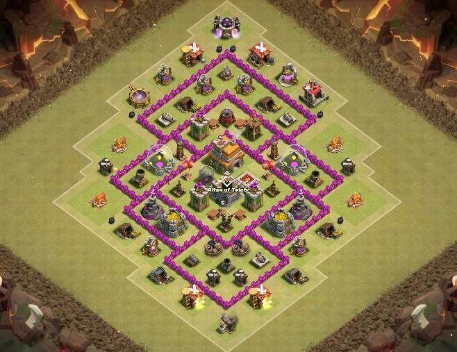 menhor layout cv 7 clash of clans pt br amino
