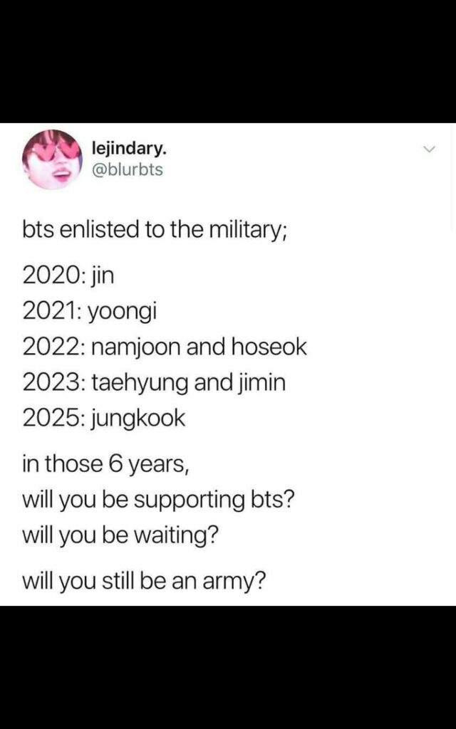 Bts Will Disband Someday Military Service Army S Amino