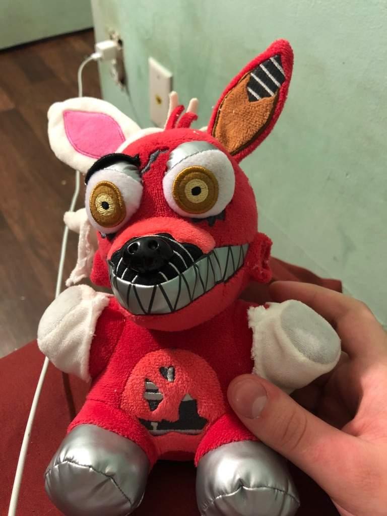 My New Nightmare Foxy Costume Five Nights At Freddy S Amino