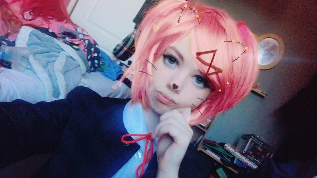 Natsuki Cosplay Doki Doki Literature Club Amino