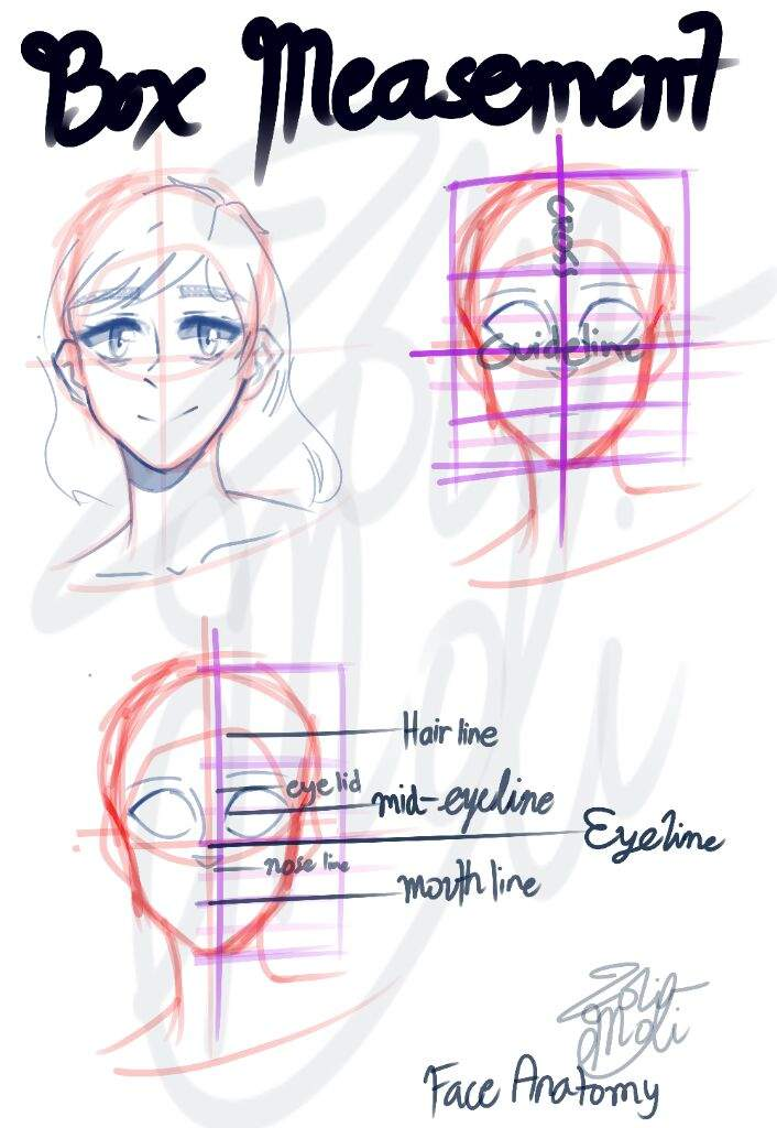 ✎FACE/HEAD ANATOMY HELP/GUIDE ✎ | Glitchtale Amino