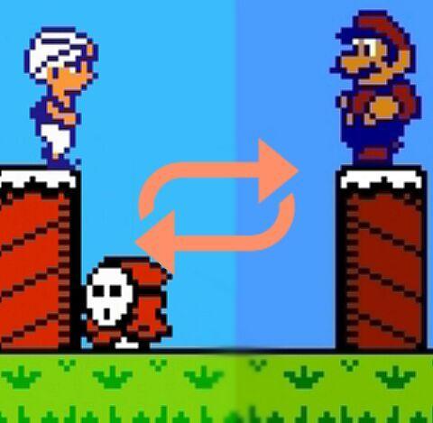 A game's transformation: From Doki Doki Panic to Super Mario
