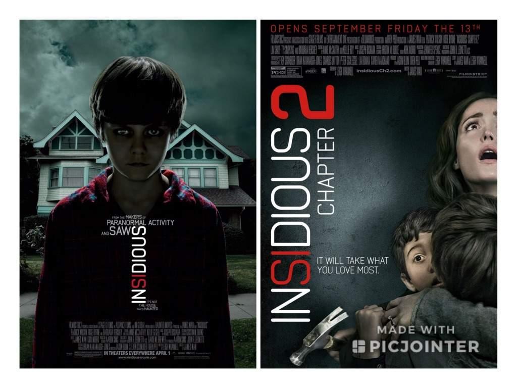 Insidious 1 2 2010 2013 Horror Amino