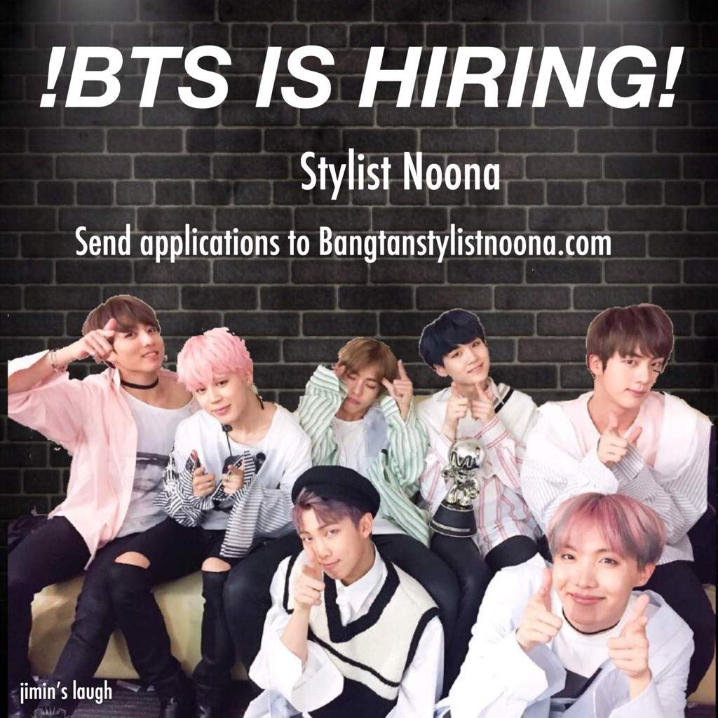 BTS IS HIRING 2018: Stylist Noona | ARMY's Amino