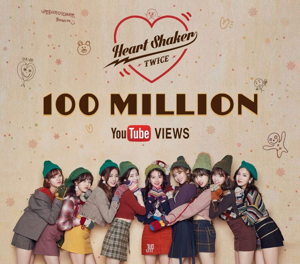 Heart Shaker MV has reached 100m views on YouTube!  2d1bee2b0