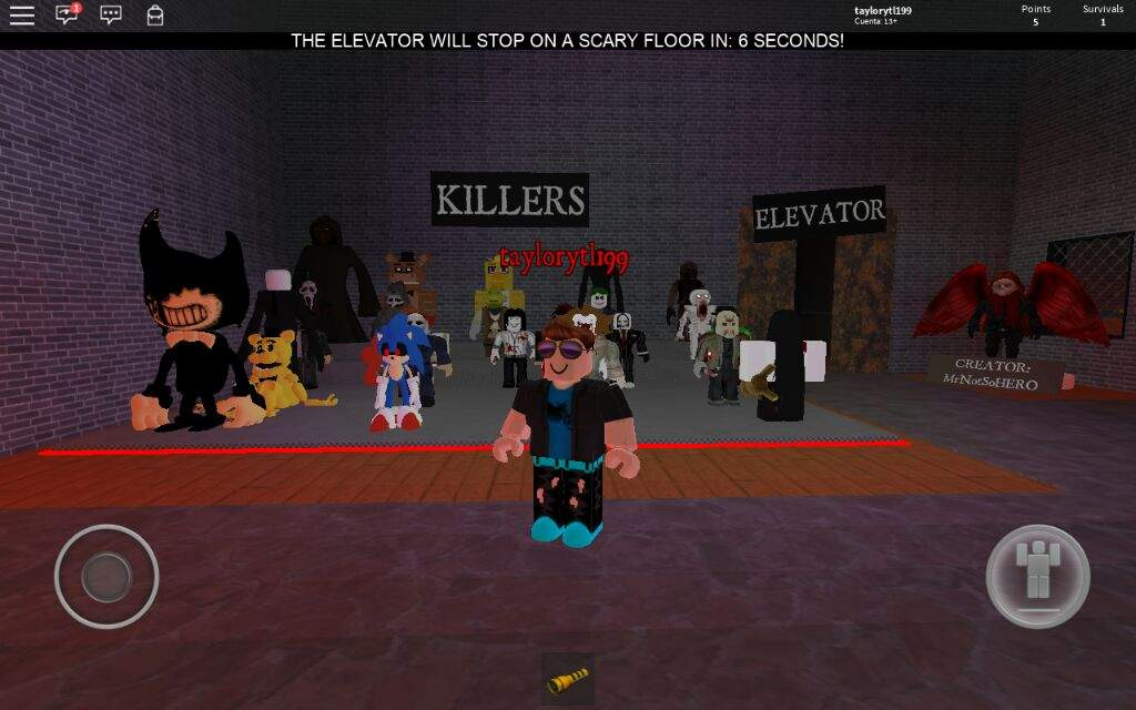 Roblox The Scary Elevator All Killers