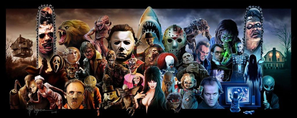 My Top 10 Most Bloodthirsty Monsters In Movies Horror Amino