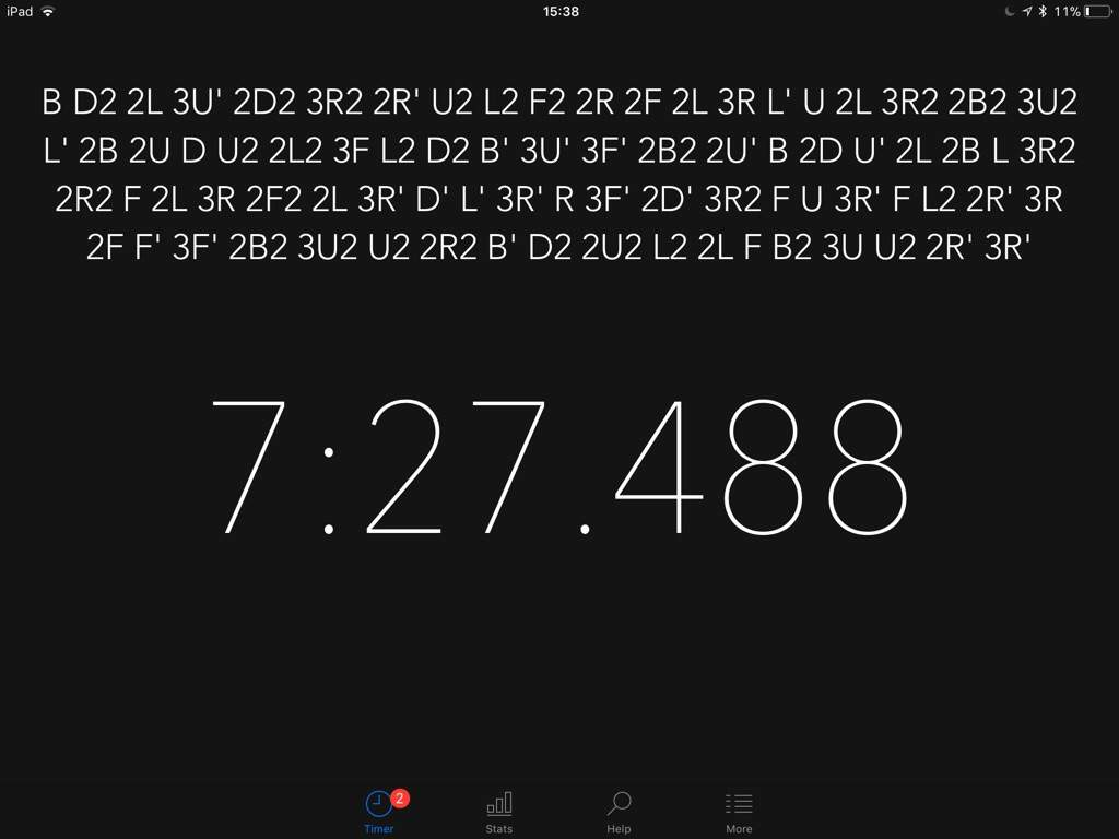 Crushed my 6x6 PB by 1 minute and 30 seconds | Cubing Amino