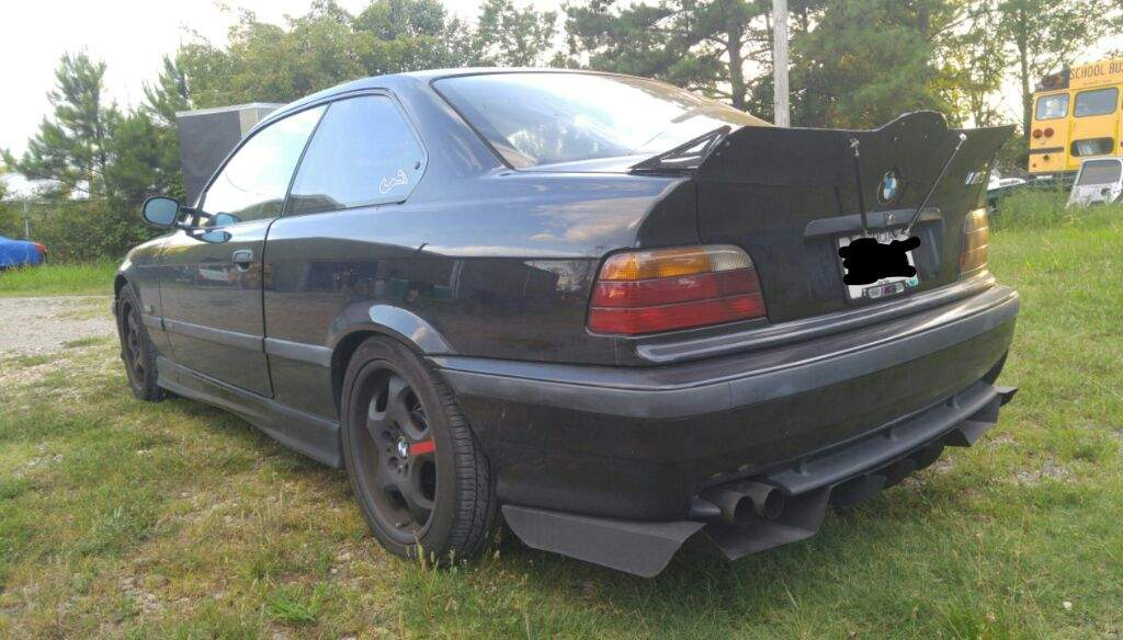 DIY E36 diffuser and duck tail!! updated! | Garage Amino
