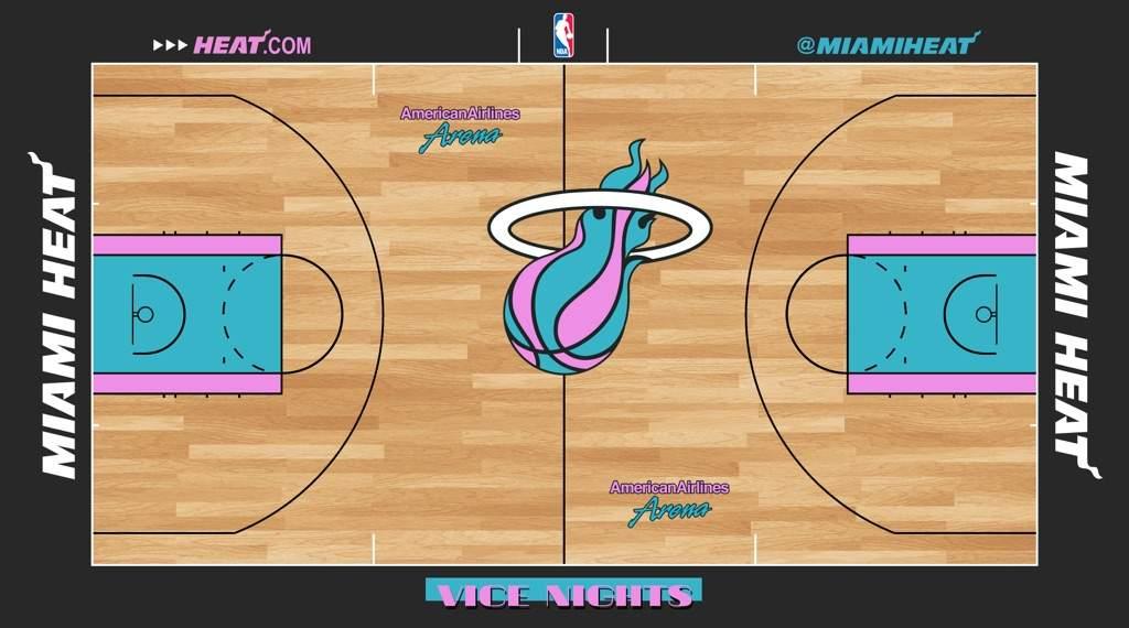 Miami Heat Reveal Vice City Edition Jerseys Hardwood