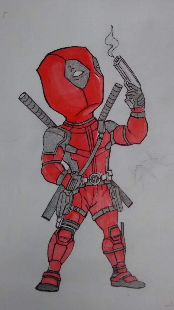 Dibujando A Deadpool Cómics Amino