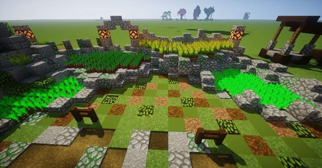 minecraft gardening