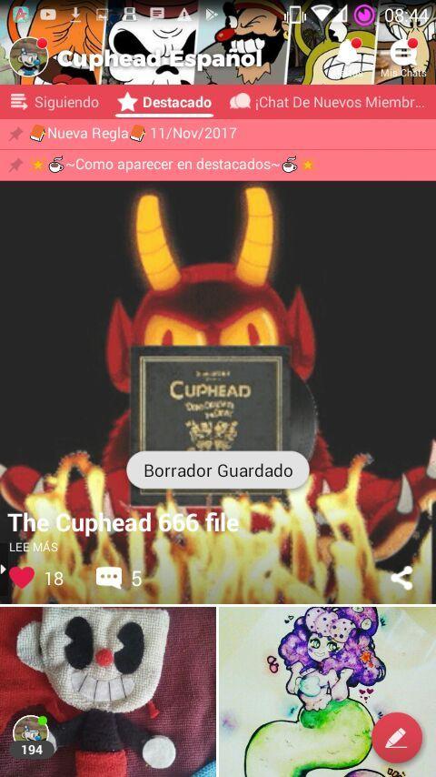 The Cuphead 666 file | Cuphead Español Amino