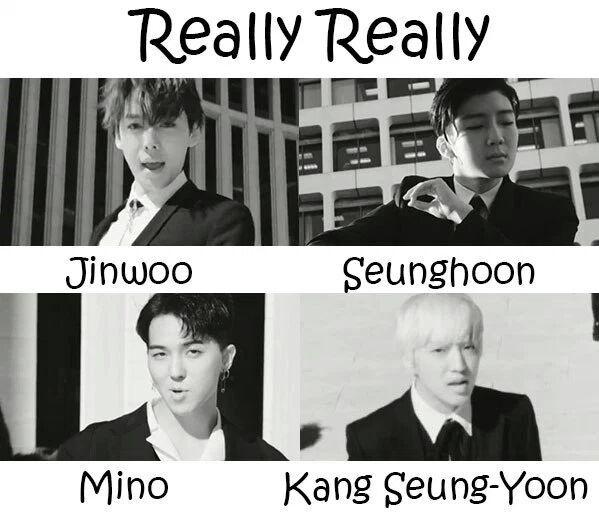 WINNER: REALLY REALLY Lyrics | K-Pop Amino