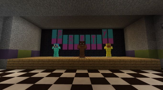 Fnaf 2 Minecraft Map! | Five Nights At Freddy's Amino