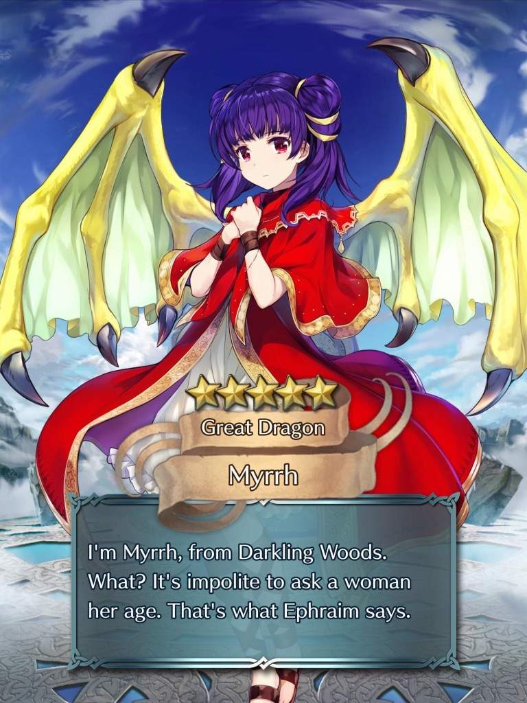 Myrrh Showed Up Early But Def Res Is Aight But Now The Build