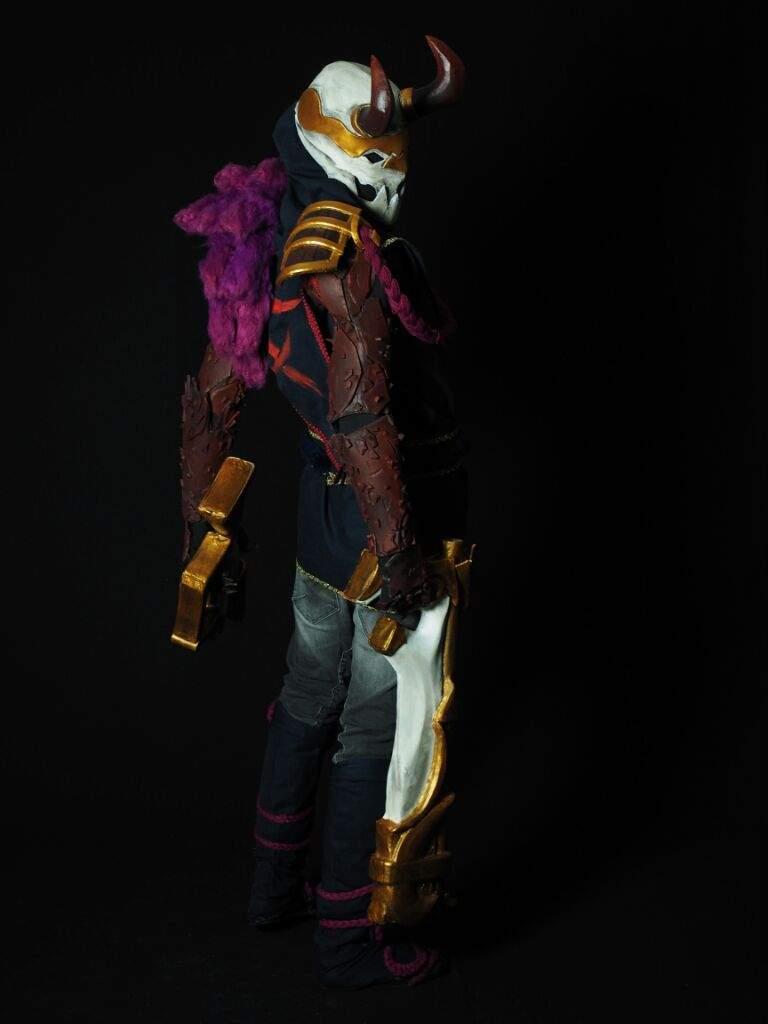 Bloodmoon Jhin League Of Legend Cosplay Amino