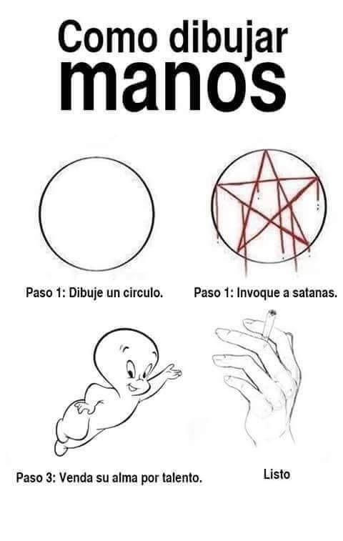 Dibujos Tumblr Manos