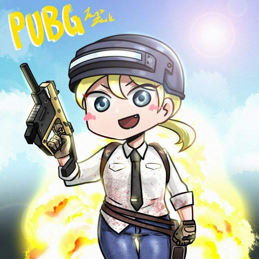 Подборка картинок Battleground Anime PUBG