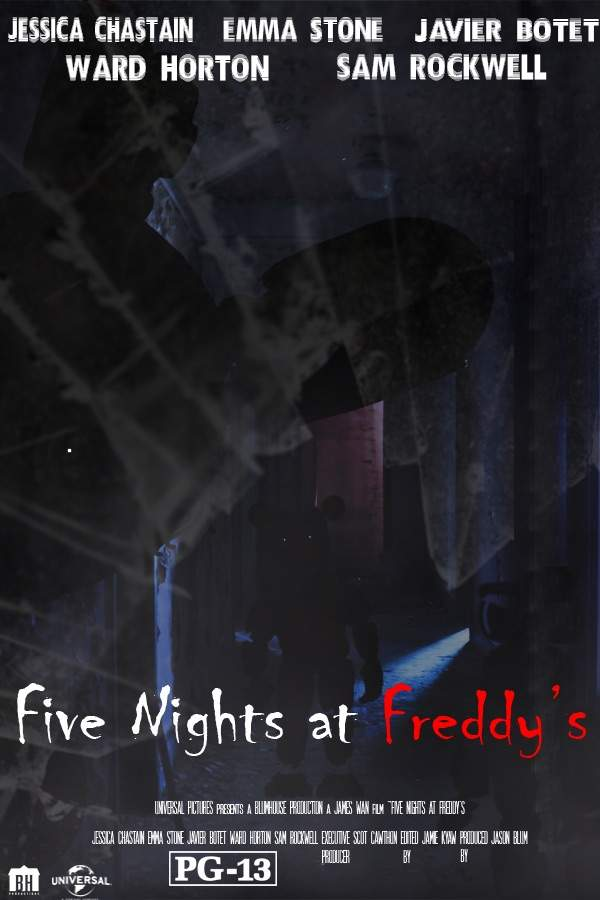 five nights at freddy s movie fan made poster five nights at