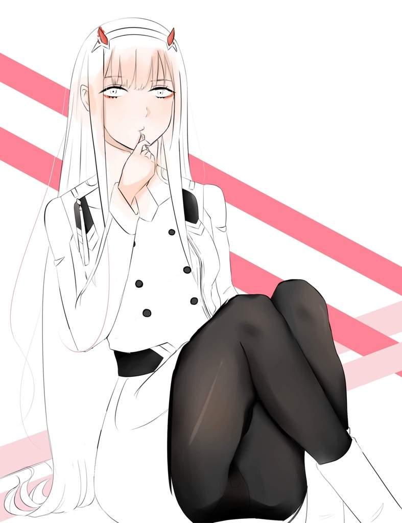 Zero-Two Fanart | Anime Amino
