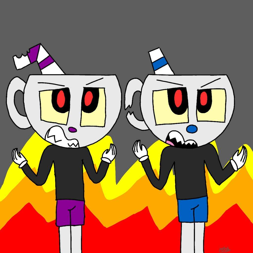 Pictures Of Evil Cuphead