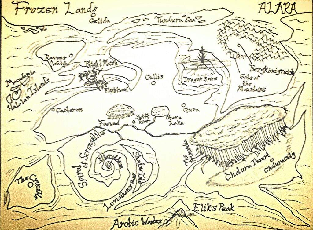 Completed Map Of Alara Amino