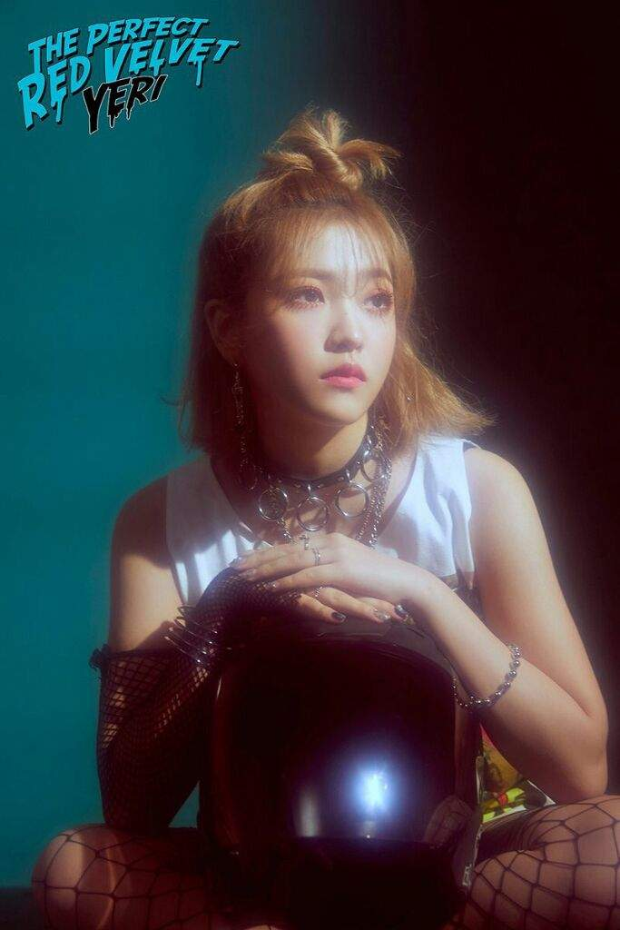 Concept Bad photos of yeri from velvet for the concept of bad boy song from