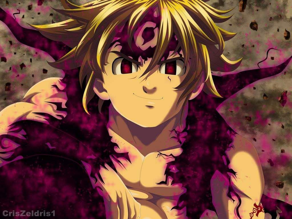 Wallpaper Meliodas Demon Mode: Nanatsu No Taizai°™ Amino