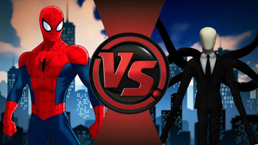 bloodshed 1 spiderman vs slenderman cartoon fight club amino