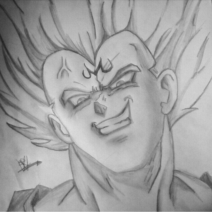 Vegeta Monstruo A Lápiz Dragon Ball Español Amino