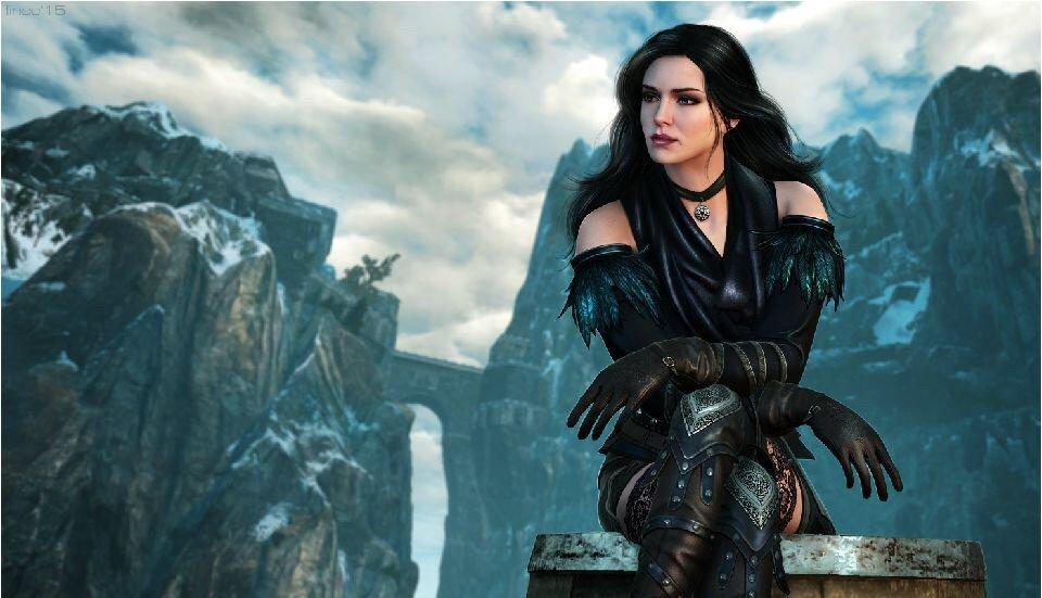 The Witcher 3 Wild Hunt Yennefer Alternative Look   Cosplay
