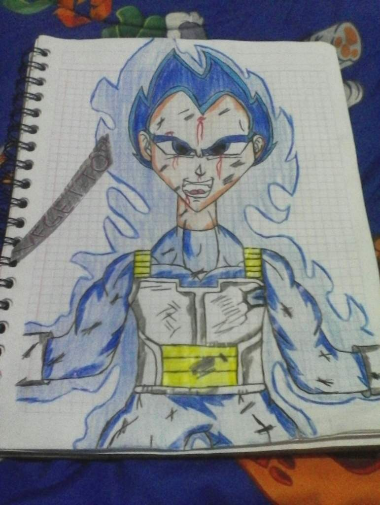 Dibujo 2 Vegeta Ssj Blue 100 Dragon Ball Espanol Amino