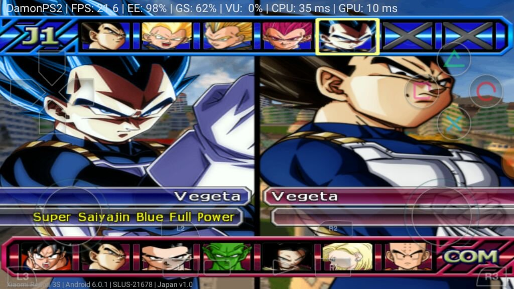 DRAGON BALL BUDOKAI 3 PS2 GAME FOR ANDROID AND IPHONE | DragonBallZ