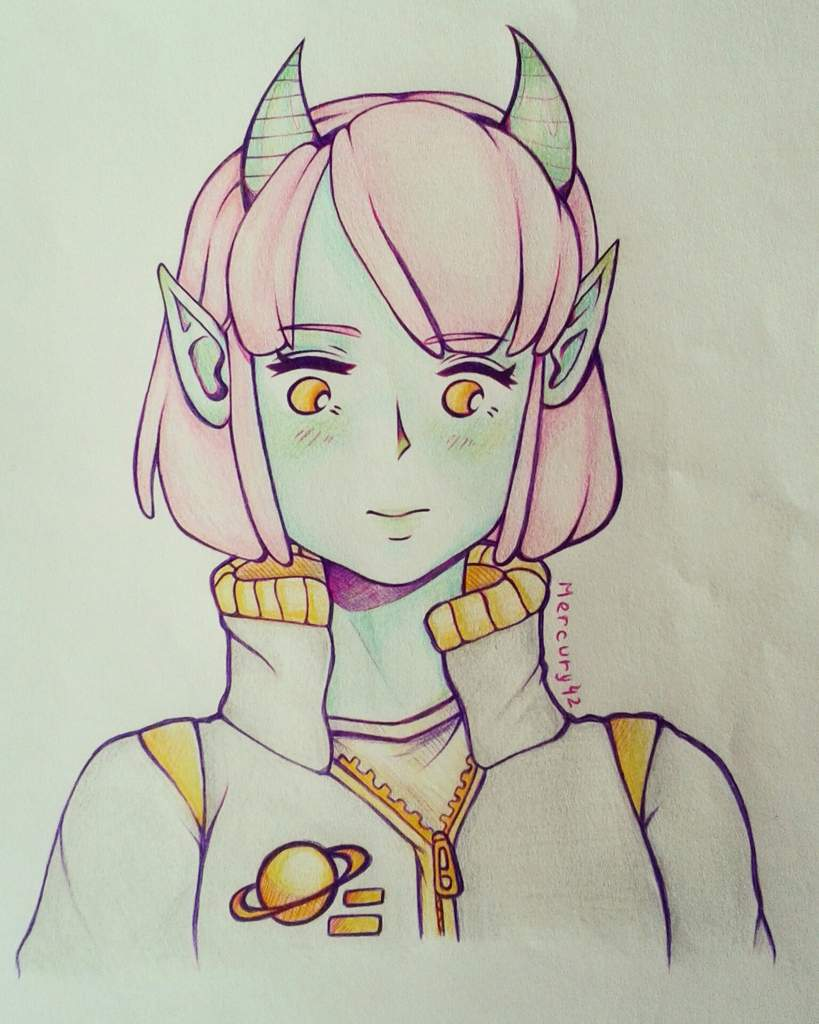 Anime Alien Girl alien girl | anime art amino