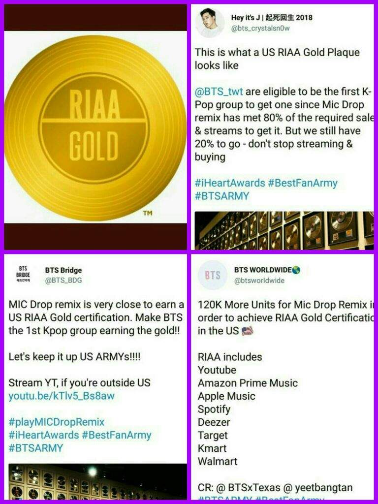 Get Bts Riaa Gold Certification In The Us Park Jimin Amino