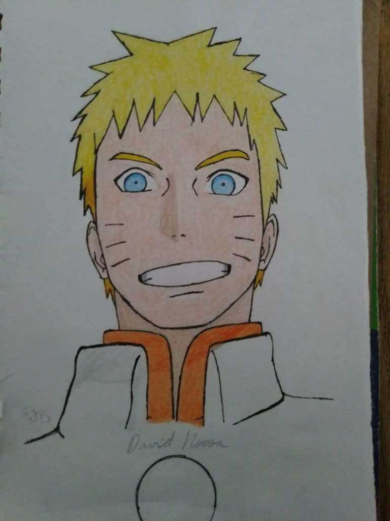 Hokage naruto drawing