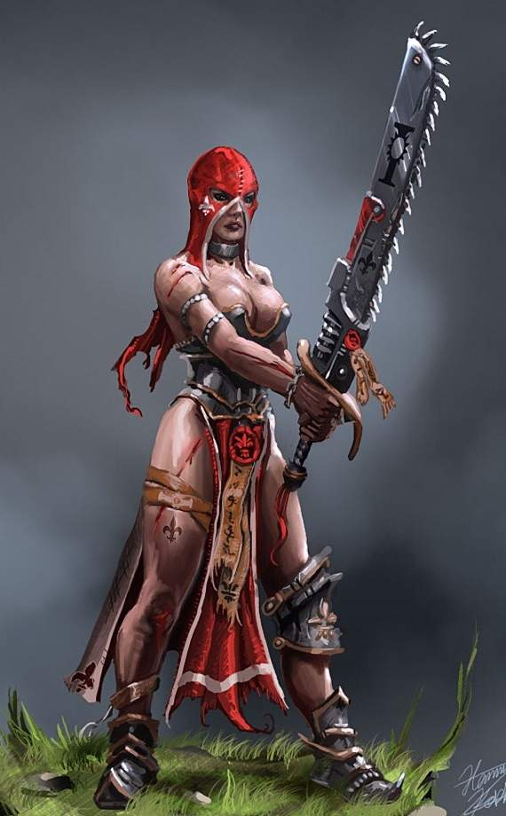 Sister Repentia | Wiki | Warhammer 40K Amino