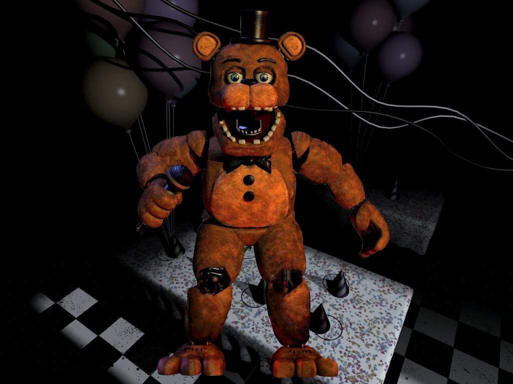 Unwithered Freddy/Bonnie | Five Nights At Freddy's Amino