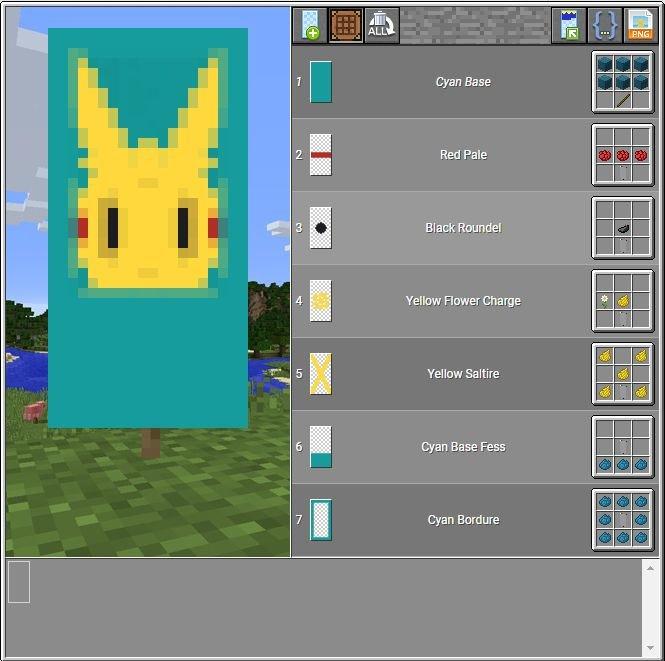 Как сделать знамя в майнкрафте 1.8