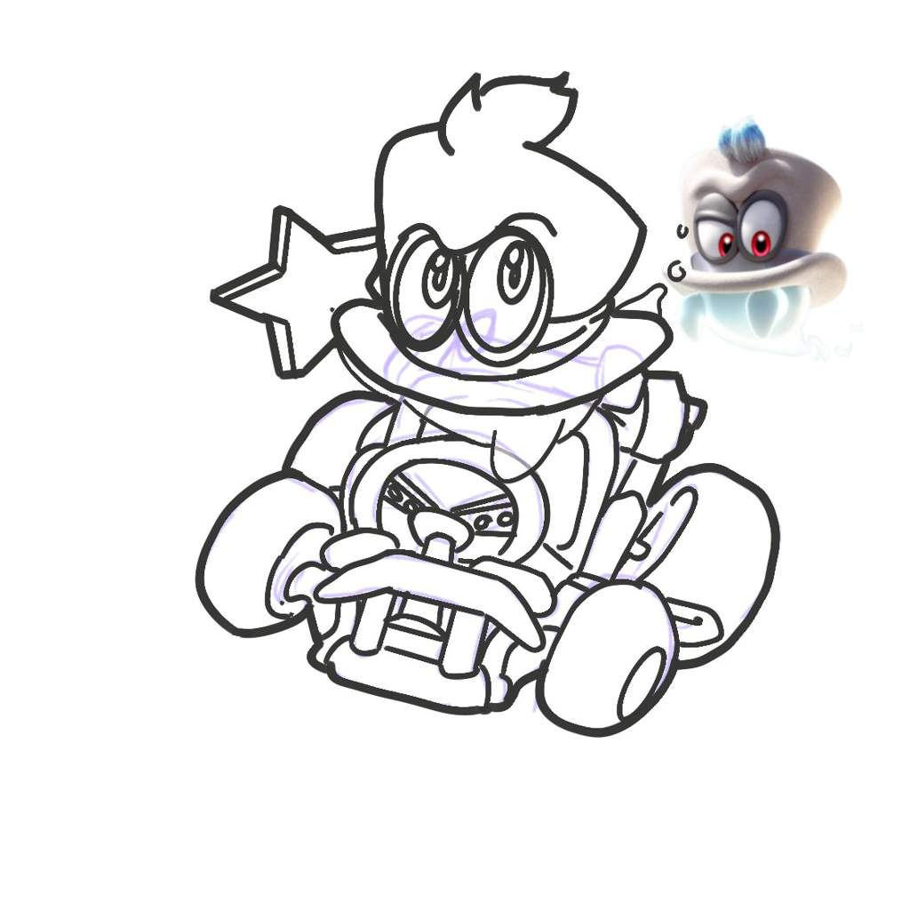 Lovely Mario Bad Guys Coloring Pages | Top Free Printable ...