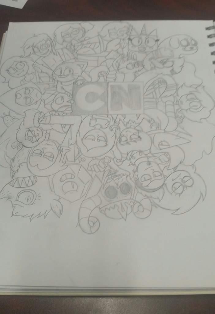 A Concoction Of Cartoon Network Characters Cartoon Amino