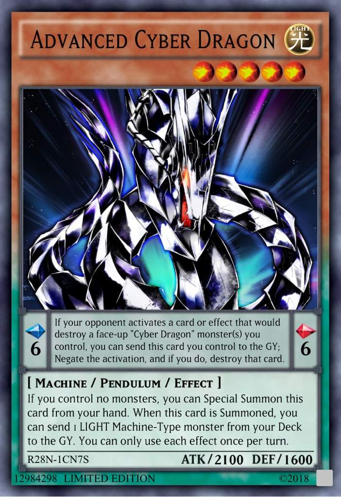 cyber dragon support