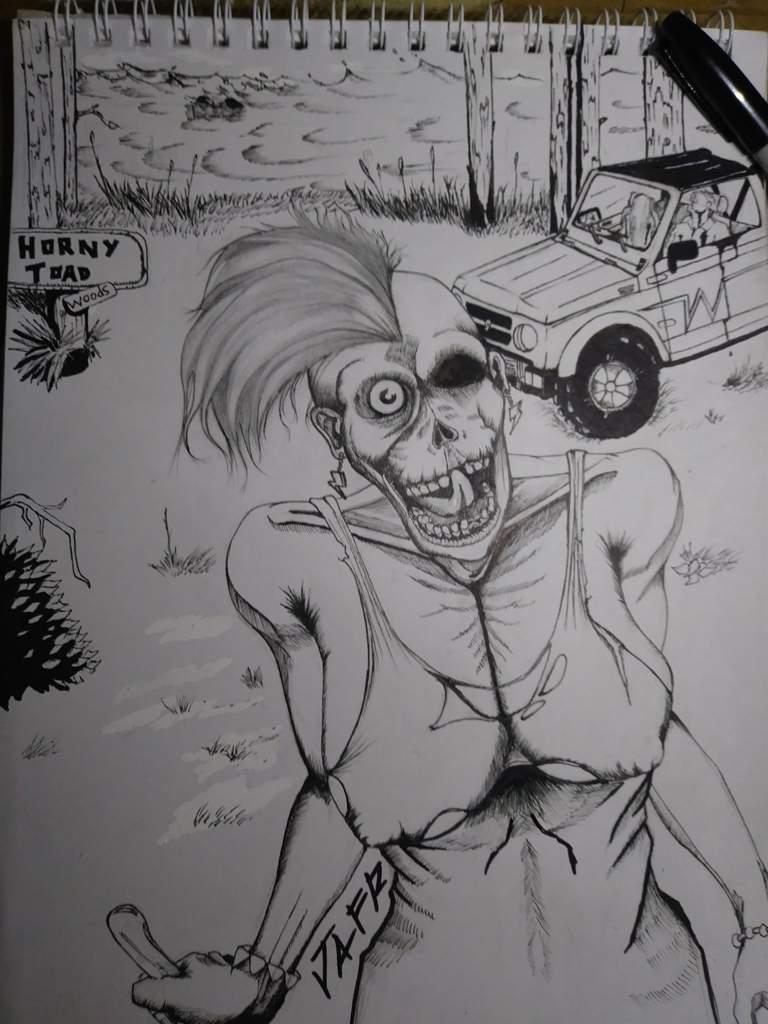 Lo Que Usualmente Dibujo Esqueletos Monstruos Etc Casi Siempre