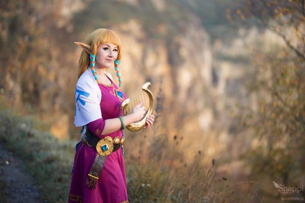 Princess Zelda From Skyward Sword Cosplay Amino